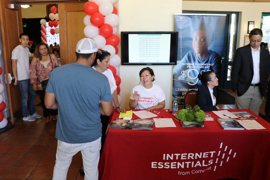 Internet Essentials from Comcast connects low-income children, adults, and seniors to the internet.