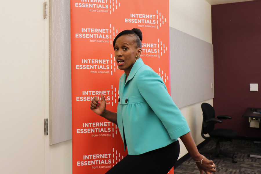 Internet Essentials from Comcast with Jackie Joyner Kersee