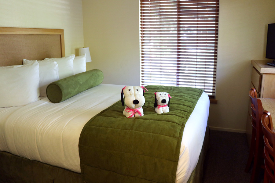 11 Things to Do in Napa, CA that Don't Involve Drinking Wine - RiverPointe Napa Valley Resort Bedroom