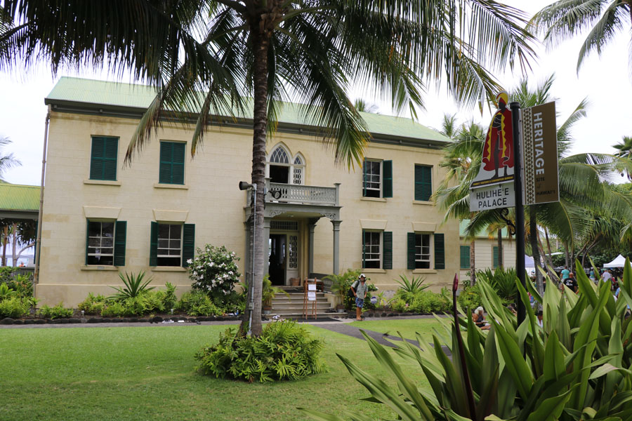 Things to do on the Big Island of Hawaii | Hulihe'e Palace in Kona