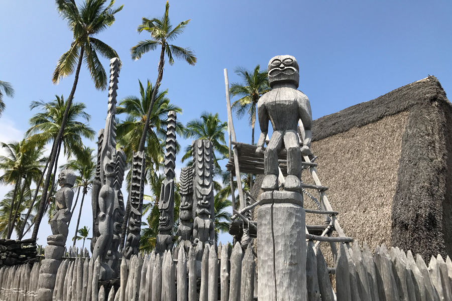 Things to do on the Big Island of Hawaii | Pu'uhonua o Honaunau National Historical Park aka City of Refuge