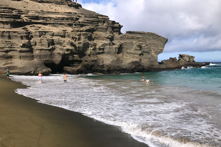 Things to do on the Big Island of Hawaii | Green Sand Beach