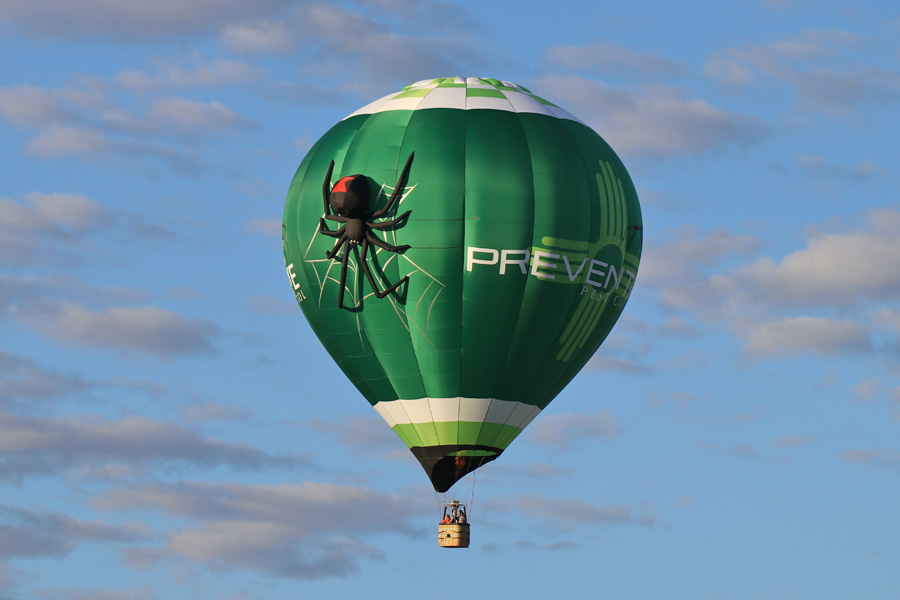 2017 Albuquerque International Balloon Fiesta in New Mexico Special Shapes Rodeo Spider
