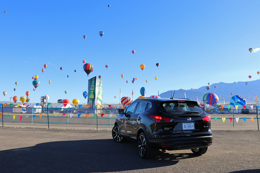 2017 Albuquerque International Balloon Fiesta in New Mexico Special Shape Rodeo Nissan Rogue Road Trip #RogueTrip