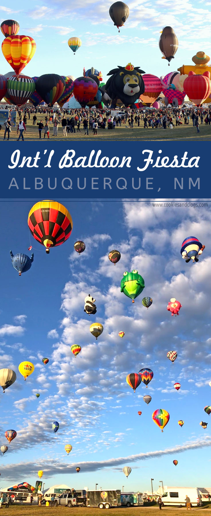 Cookies & Clogs | 2017 Albuquerque International Balloon Fiesta in New Mexico Special Shape Rodeo - Hot Air Balloon Festival