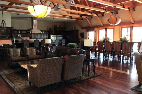 The Lounge clubhouse at Whitney Ranch New Home Community in Rocklin, CA