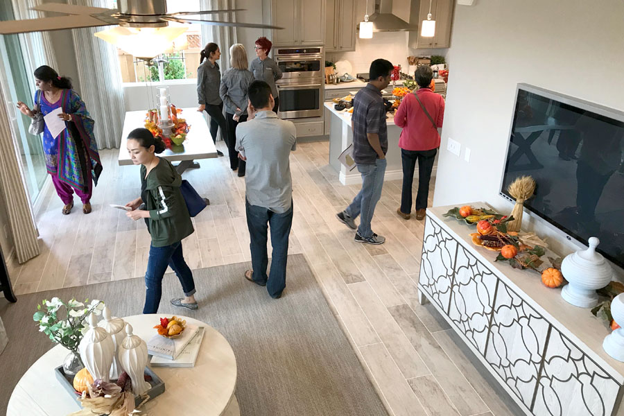 Tour new homes in Mountain House CA — Inspirato model homes in Cordes Village. Diversity