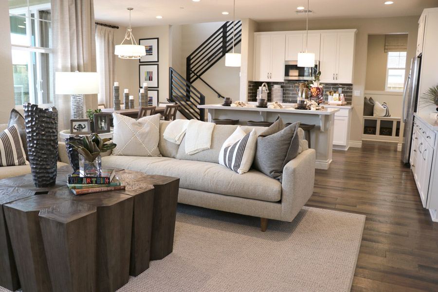 Tour new homes in Mountain House CA — Inspirato model homes in Cordes Village. Benton Floor Plan