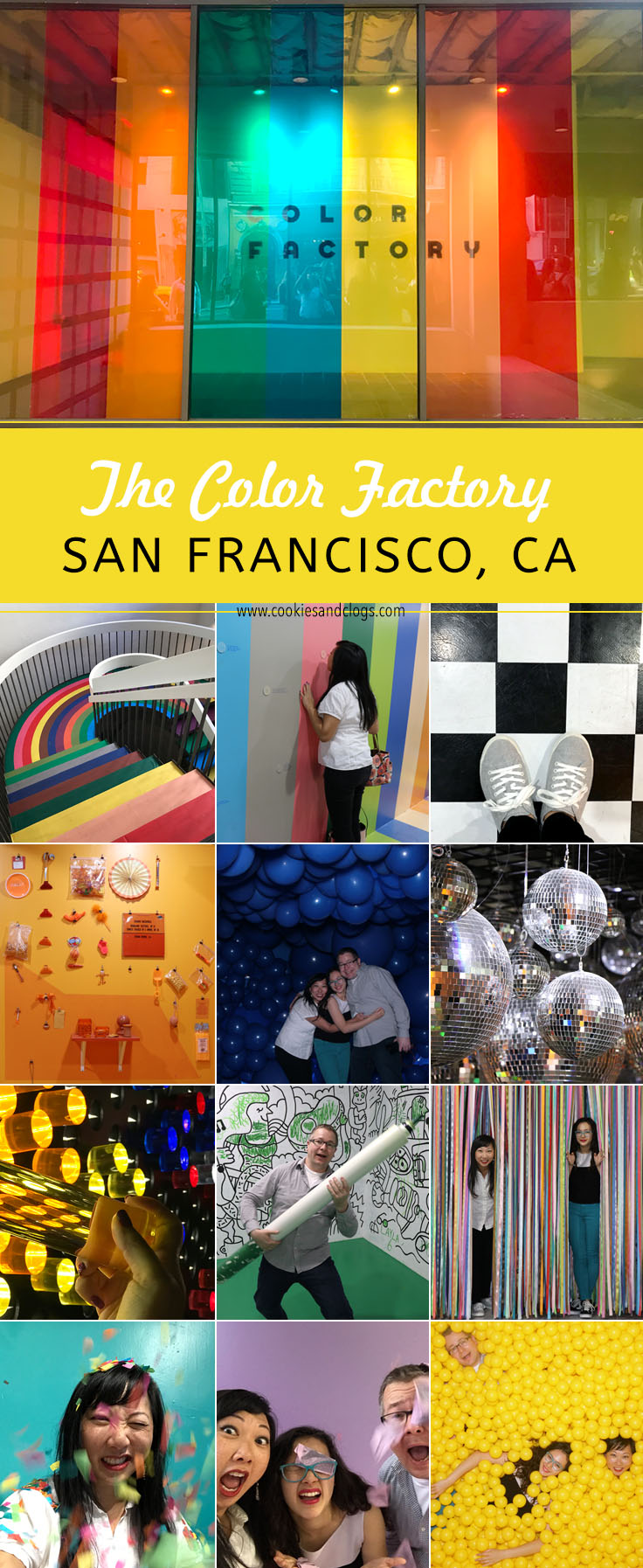 Color Factory in San Francisco, CA. Summary, ticket info, and if it's worth the cost.