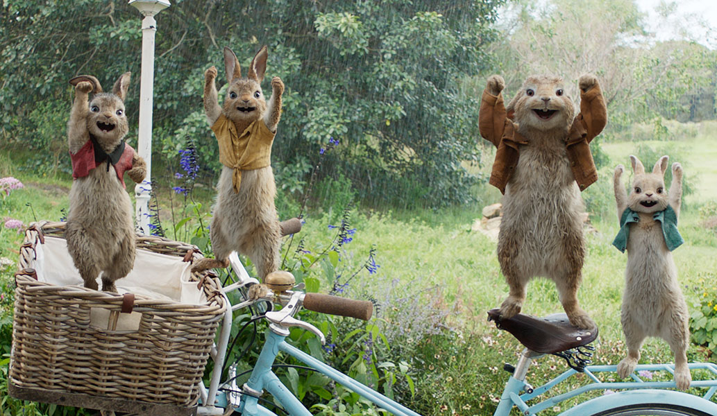 Peter Rabbit movie review for the family and kids