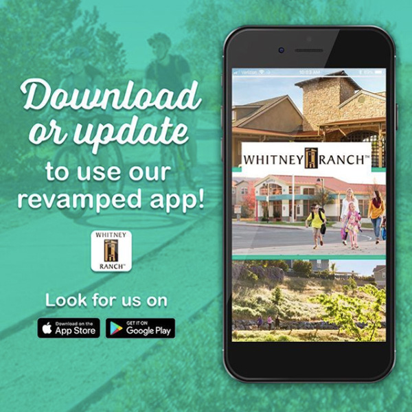 Canyon View at Whitney Ranch in Rocklin, CA — Whitney Ranch App