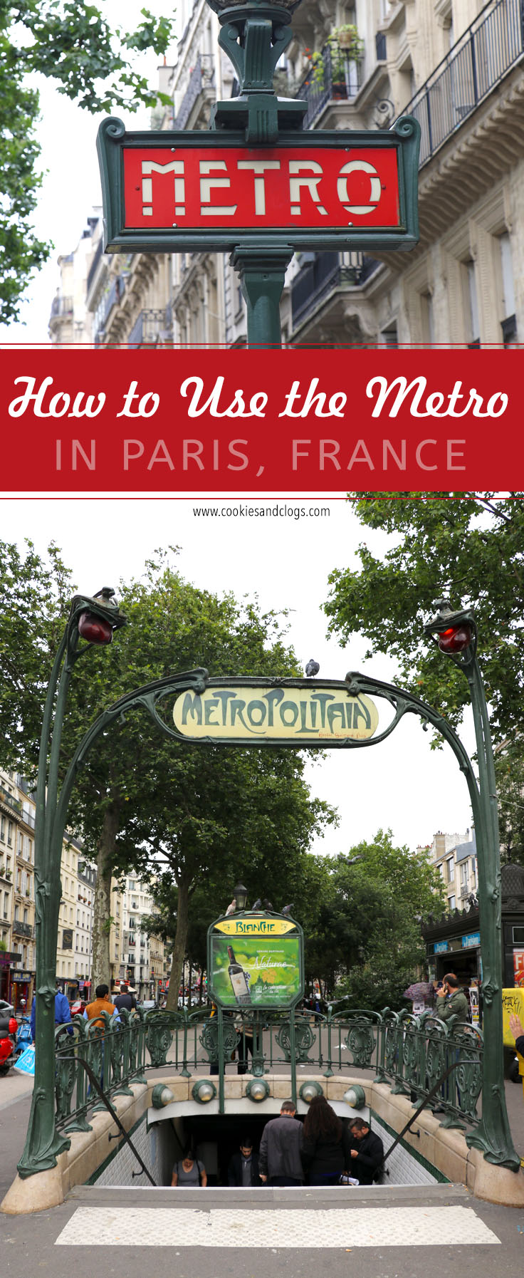Paris Travel Guide: How to use Paris Metro & bus public transportation in Paris France w/ photos and video tutorial of how to buy tickets.