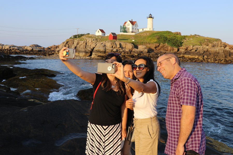 Check out some travel ideas for day trips near Boston Massachusetts and New England road trips. Also, see how the 2018 Chevy Traverse handles a seven-state family road trip in this car review. Nubble Lighthouse in York Maine
