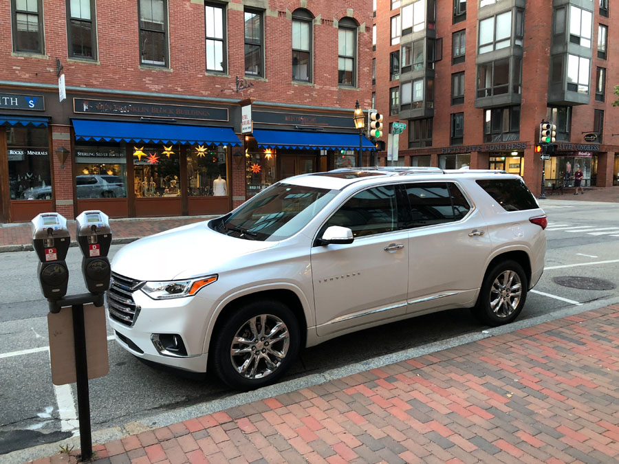 Check out some travel ideas for day trips near Boston Massachusetts and New England road trips. Also, see how the 2018 Chevy Traverse handles a seven-state family road trip in this car review. Portland New Hampshire