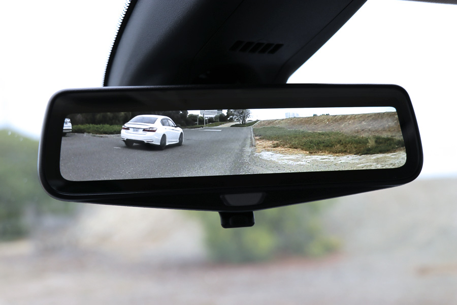 Mother Daughter Road Trip to Monterey in the 2018 Buick Enclave - Rear View Camera