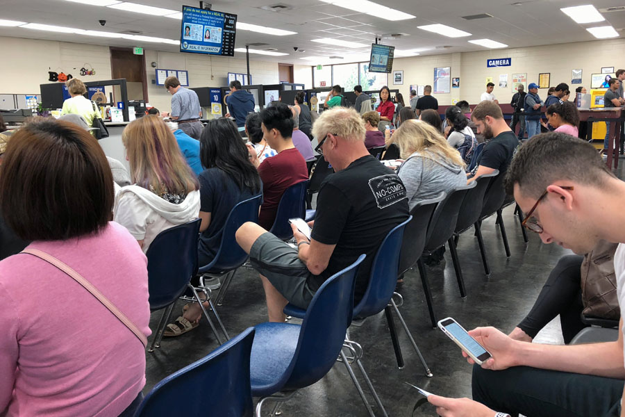 Teenage Drivers — Tips for How to Get a Driver Permit at the DMV Waiting