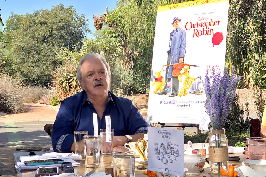 Jim Cummings interview as the Winnie the Pooh voice and Tigger in the Christopher Robin movie