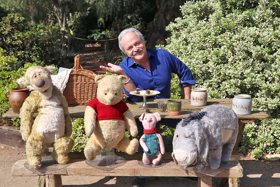 Jim Cummings interview as the Winnie the Pooh voice and Tigger in the Christopher Robin movie.