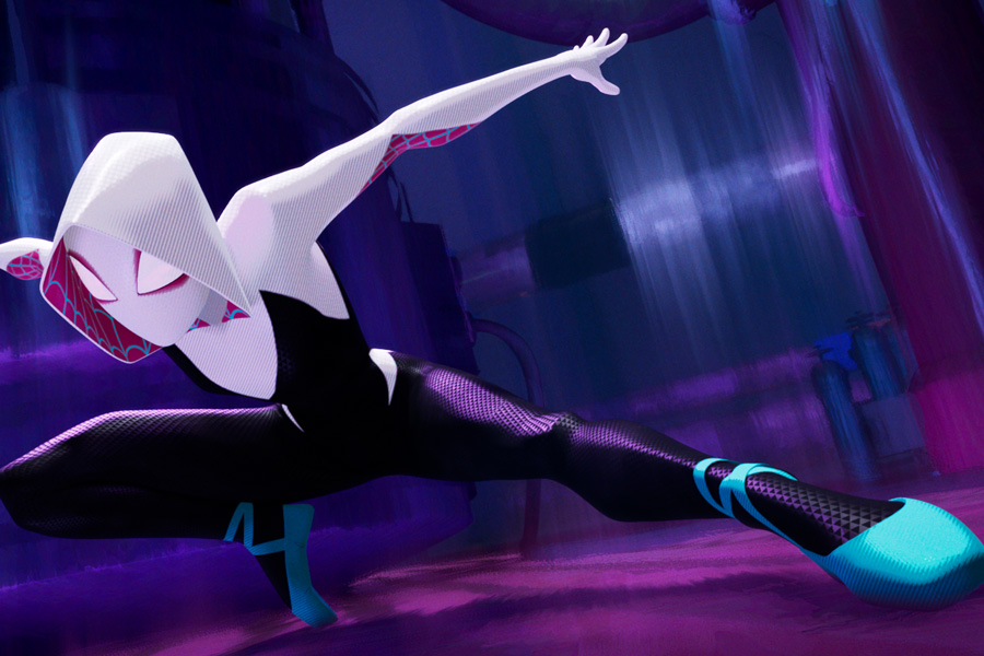 Spider-Man: Into the Spider-Verse Movie Review for Families. Spider-Gwen Gwen Stacy