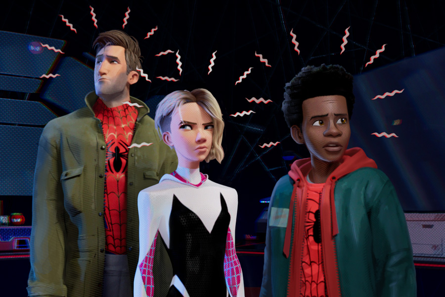 Spider-Man: Into the Spider-Verse Movie Review for Families. Spidey sense