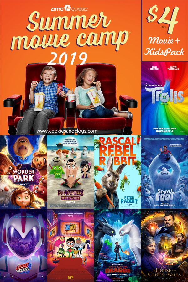 2019 Summer Movie Deals — AMC Summer Movie Camp