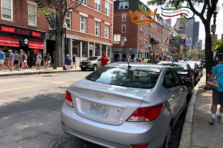 Family travel tips for visiting the Boston Freedom Trail in Boston, Massachusetts with historic sites - North End Little Italy