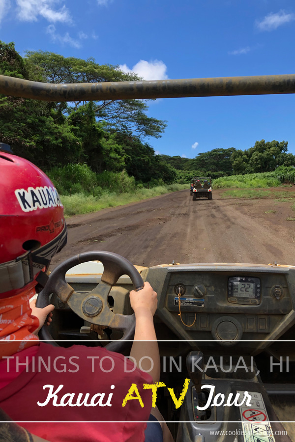 Fun things to do in Kauai Hawaii with family with teens, couples, singles — Drive ATV 4x4 quads in Kauai Hawaii with Kauai ATV.