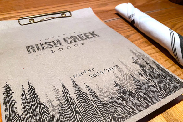 Rush Creek Lodge in Groveland, CA near Yosemite National Park Tavern and Restaurant