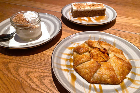 Rush Creek Lodge in Groveland, CA near Yosemite National Park Tavern and Restaurant Dessert